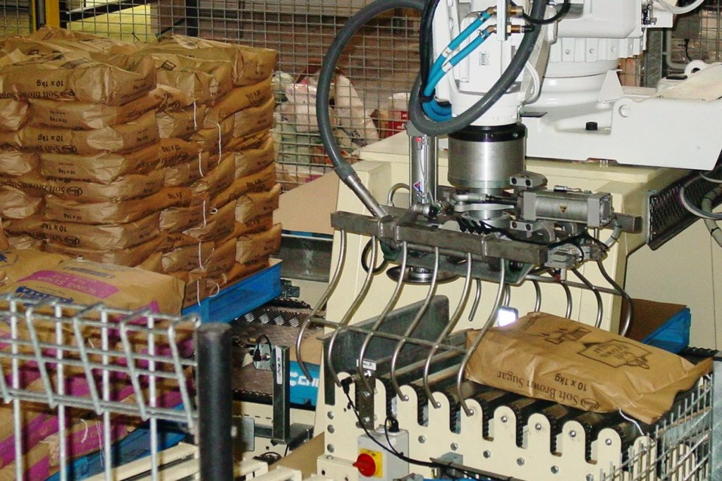 Robotic Bag Palletiser (1)